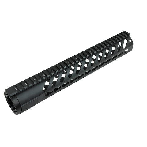 "12"" Keymod Free Float Handguard,with Steel Nut"