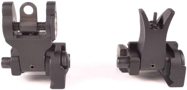 Mil Spec Micro Flip Up Backup Sights Mount Set - FR18