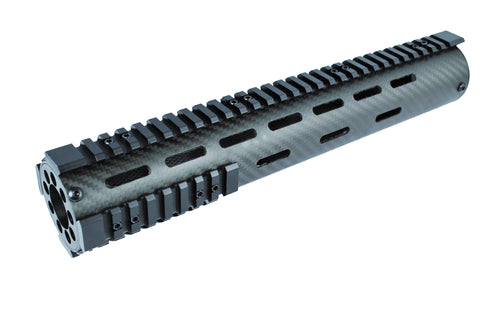 "12"" Carbon Fiber Ultra Light Free Float Handguard"