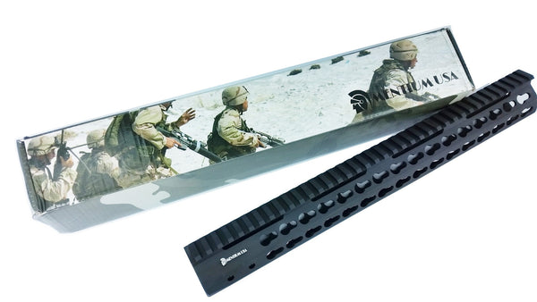 "15"" Slim Keymod Free Float Handguard"