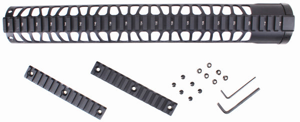 "15""  Super light Keymod Free Float Handguard for Low Profile L308 Rifle"