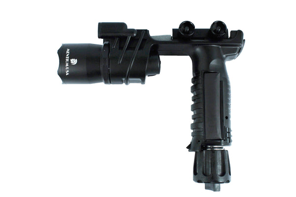 Vertical Foregrip Grip 550 Lumens Flashlight- Titanium black