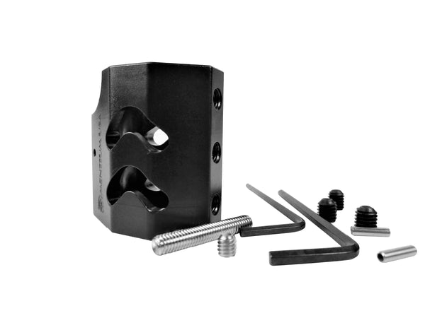 "Gas Block-Phantom Steel Low Profile 0.75"" Adjustable"