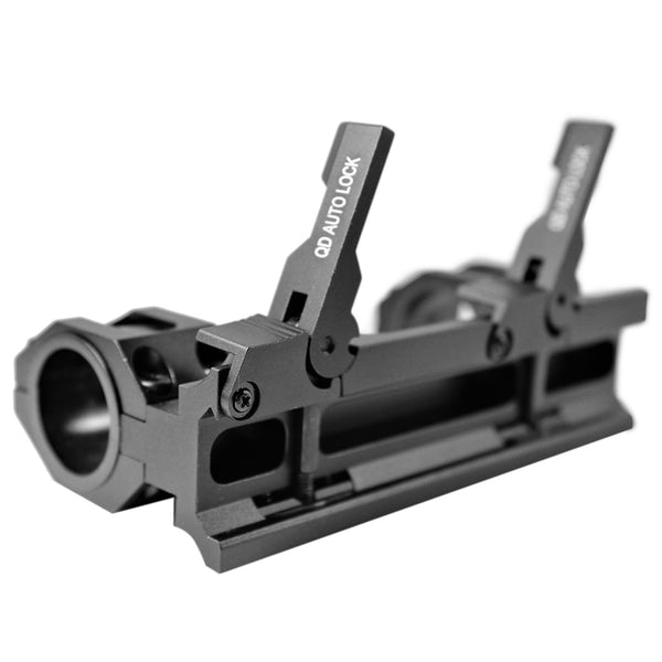 "AR15 M4 30mm / 1""  Quick Release Scope Mount QD68"