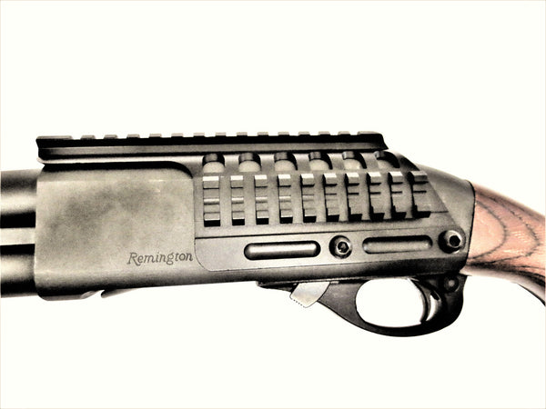 Remington Shotgun 870 1100 1187 Mount & Side Saddle Shotshell Carrier