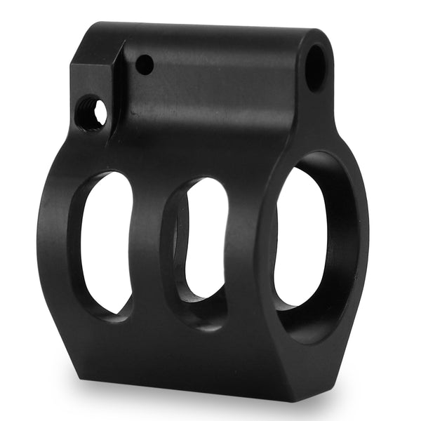 "Adjustable 0.75""Low Profile Steel Gas Block"