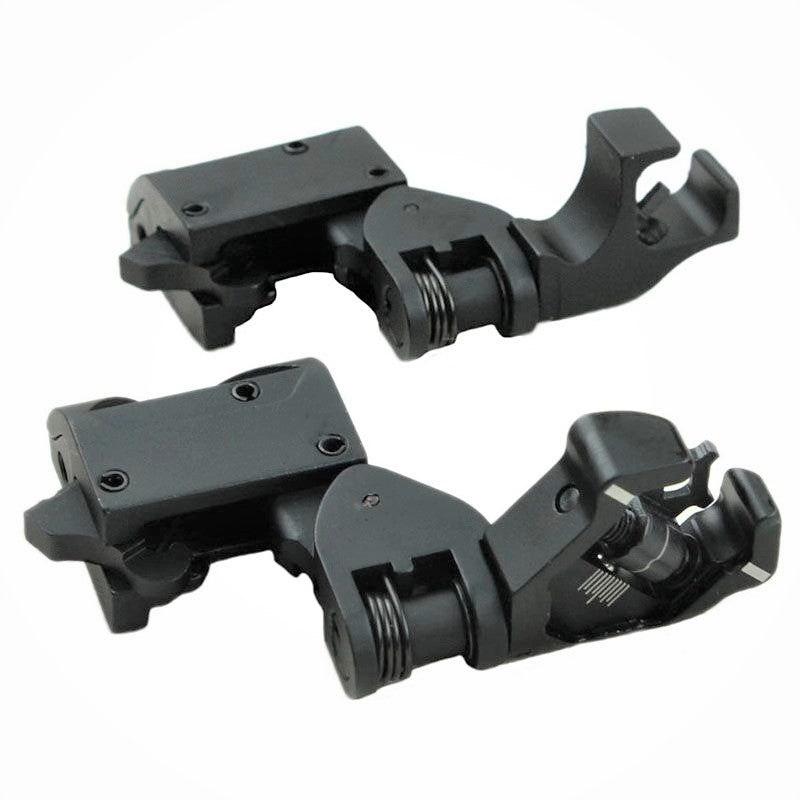 45° Canted Front and Rear Combat Sights with Integrated Sighting System- FR12