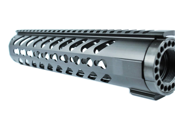 "10"" Keymod Free Float Handguard,with Steel Nut"