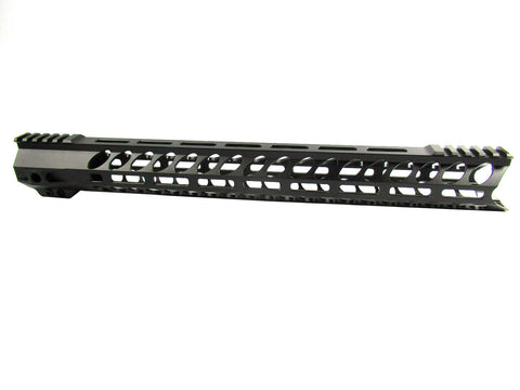 "17"" Alpha One AR-15 M-Lok Free Float Rail Handguard-HGML09"