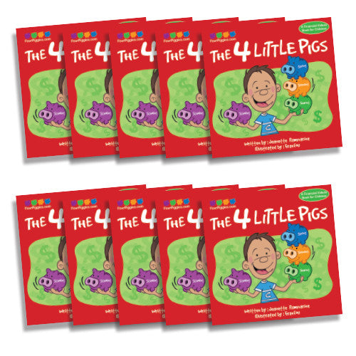 Four Piggies Book (10 pack)