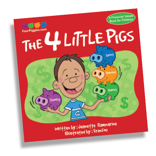 Four Piggies Book
