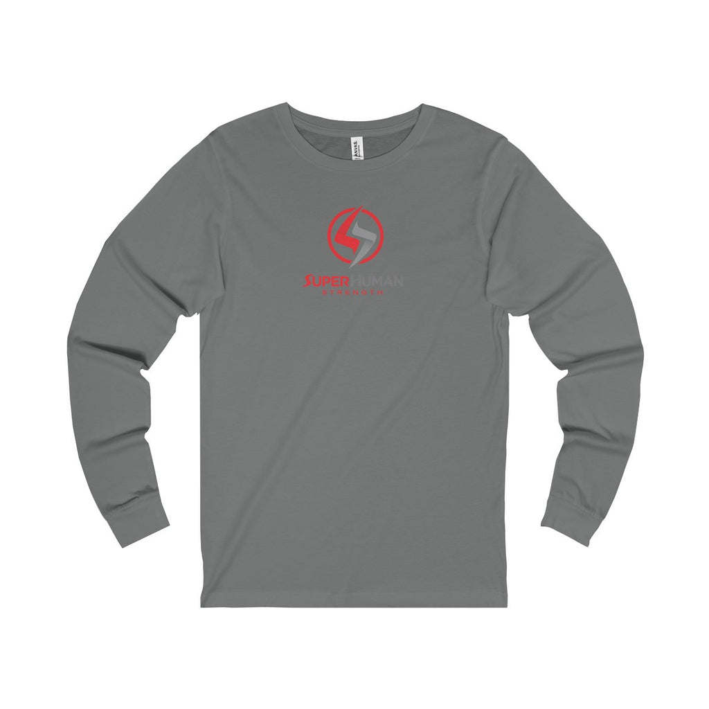 SuperHuman Red - Mens Jersey Long Sleeve Tee