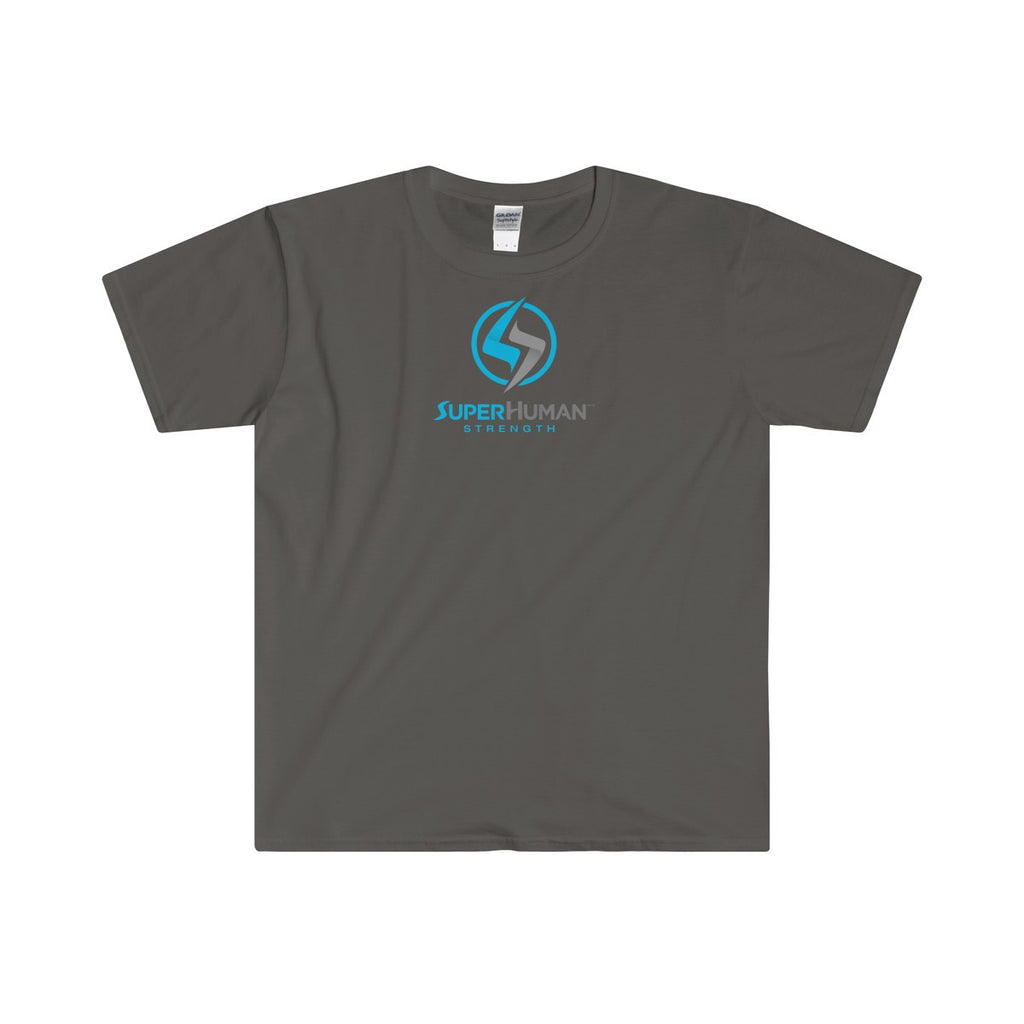 Men's SuperHuman Blue -Softstyle® Adult T-Shirt