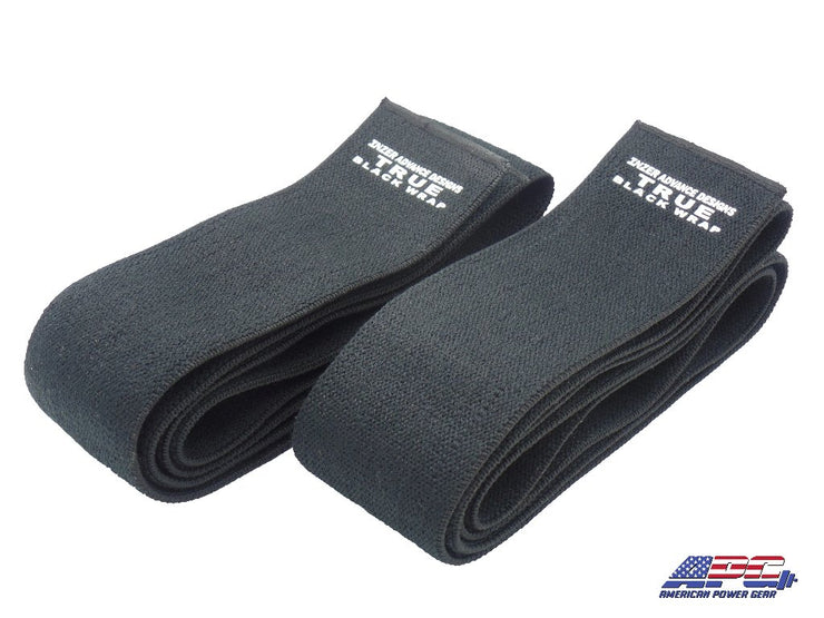 INZER True Black Knee Wraps