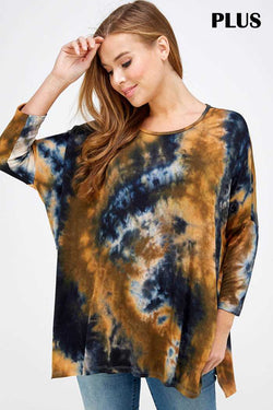 L.TREE 1759PL TIE DIE TOP