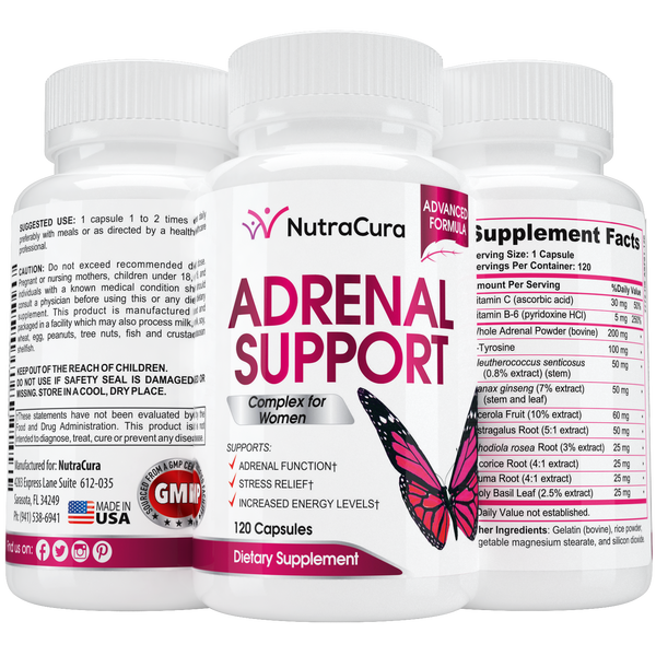 Adrenal Support Complex for Women