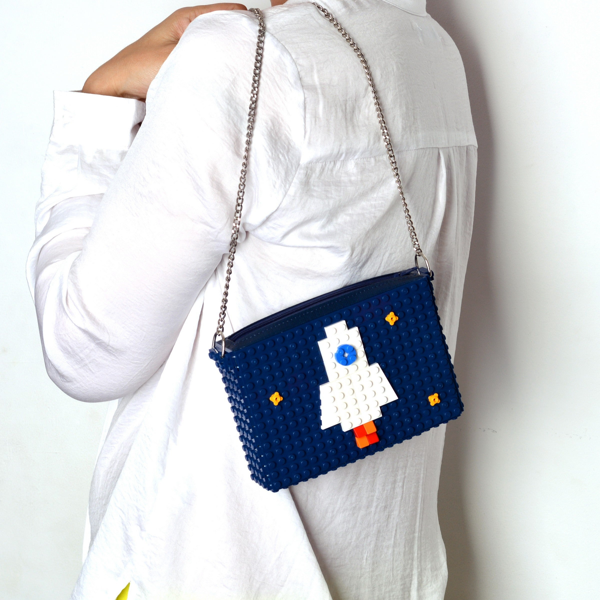 Dark blue Rocket zipbag