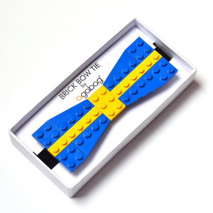 Blue with yellow cross