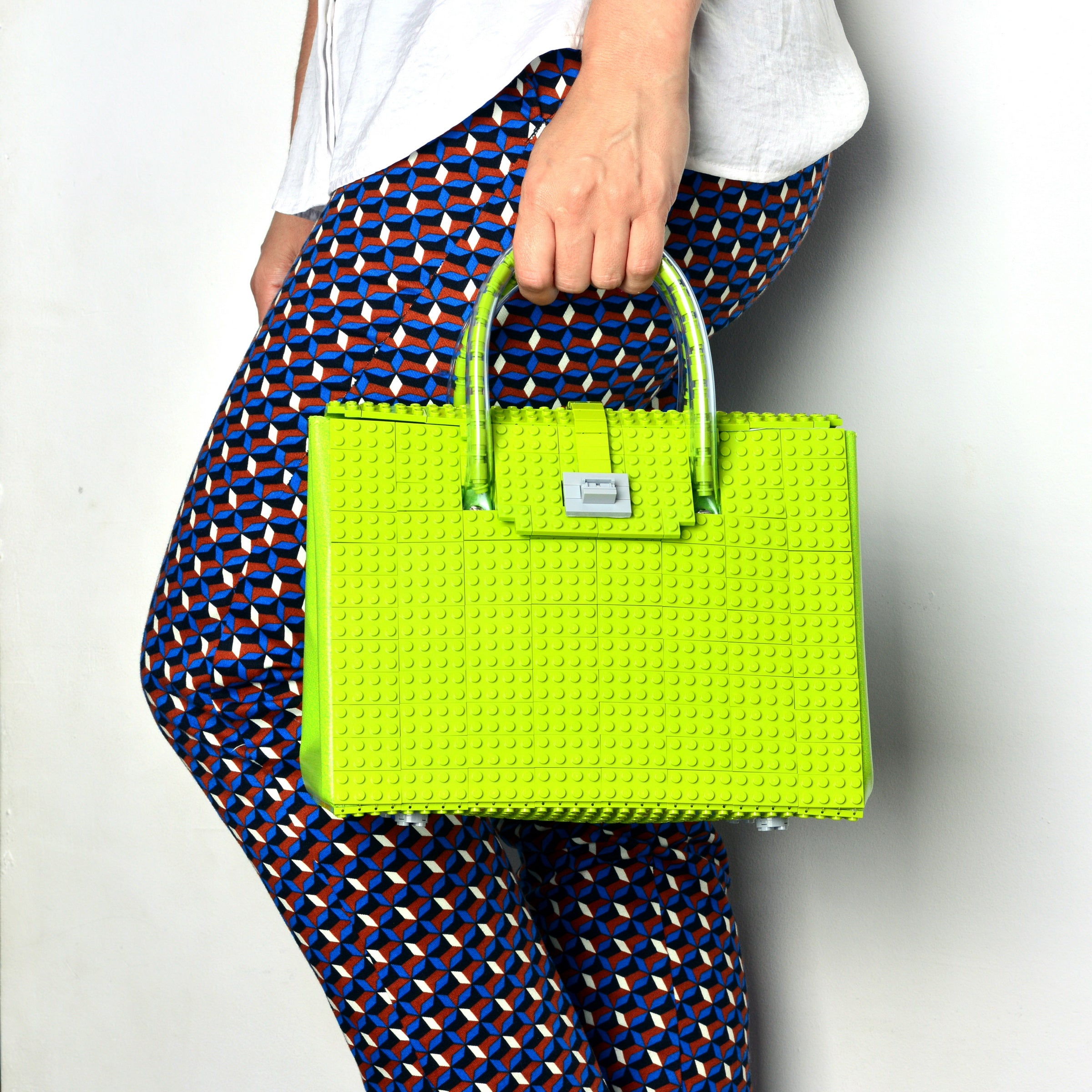 BRICK BAG 25 - lime
