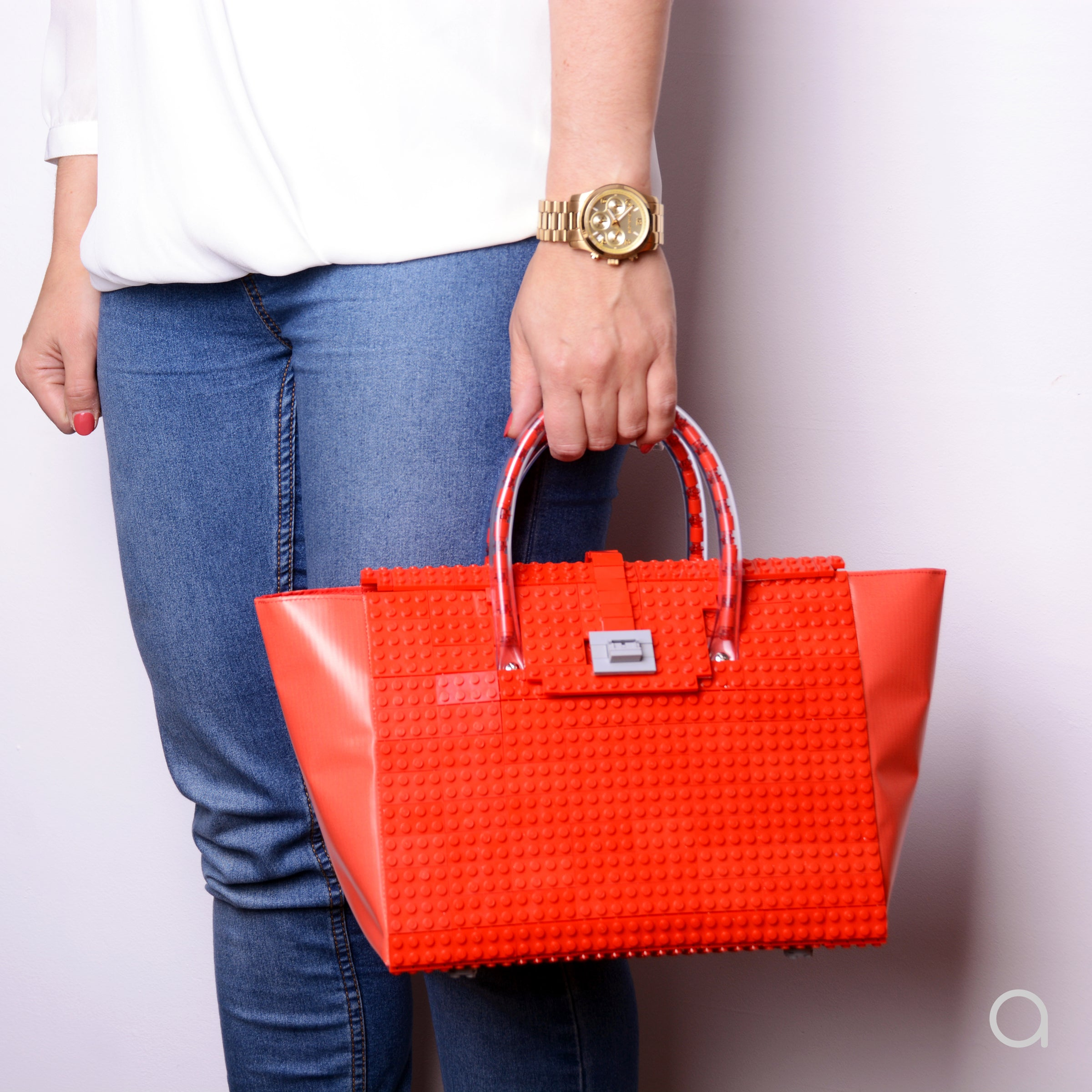 BRICK BAG 25 - red