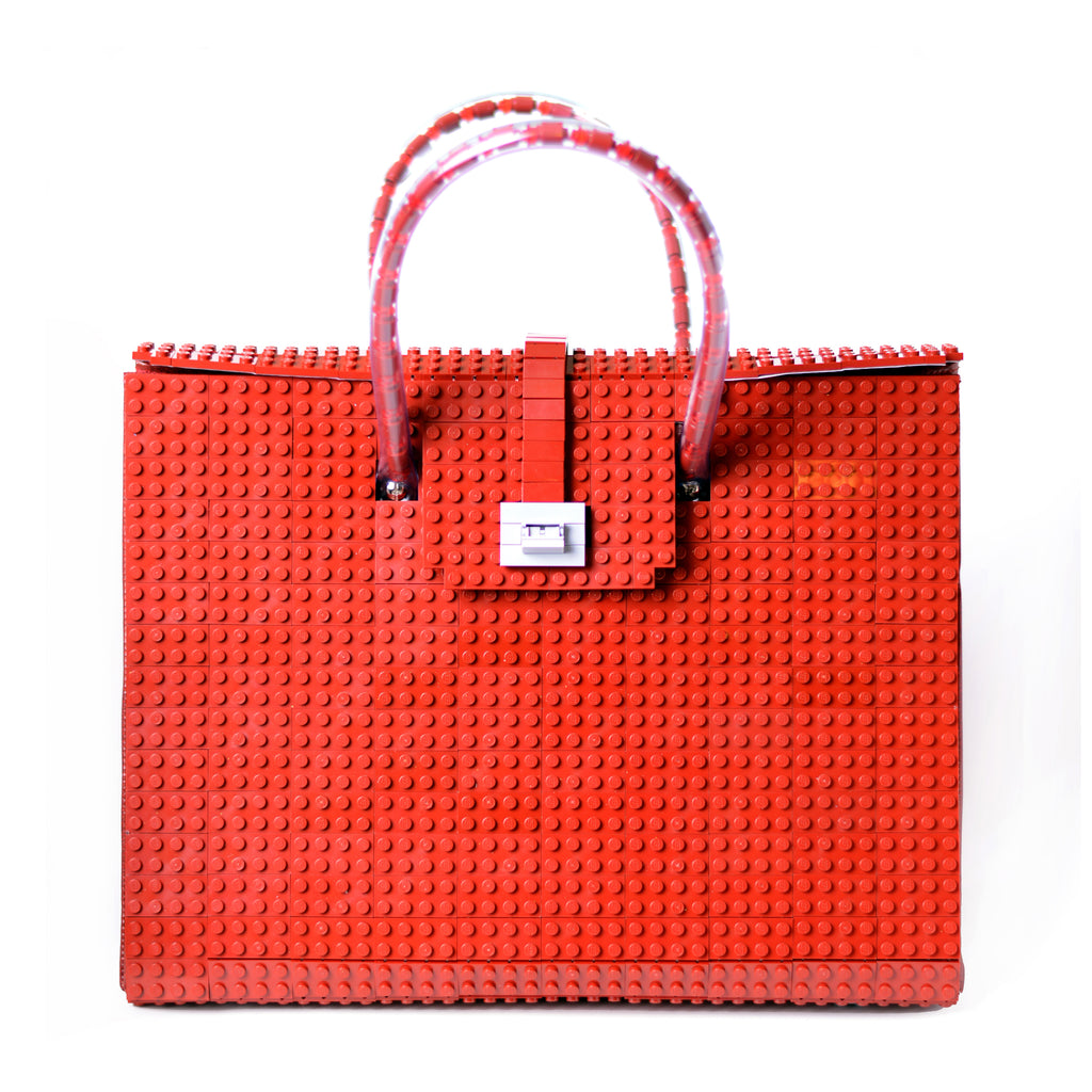 BRICK BAG 32 - dark red