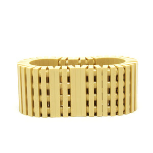 tan stripes bracelet