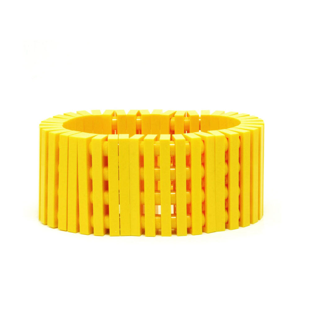 yellow stripes bracelet