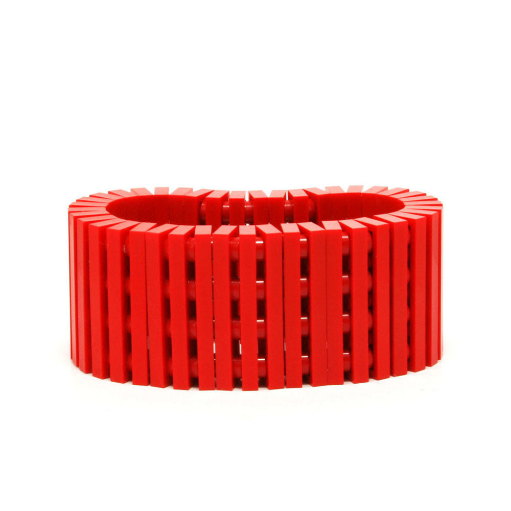 red stripes bracelet