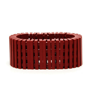 dark red stripes bracelet