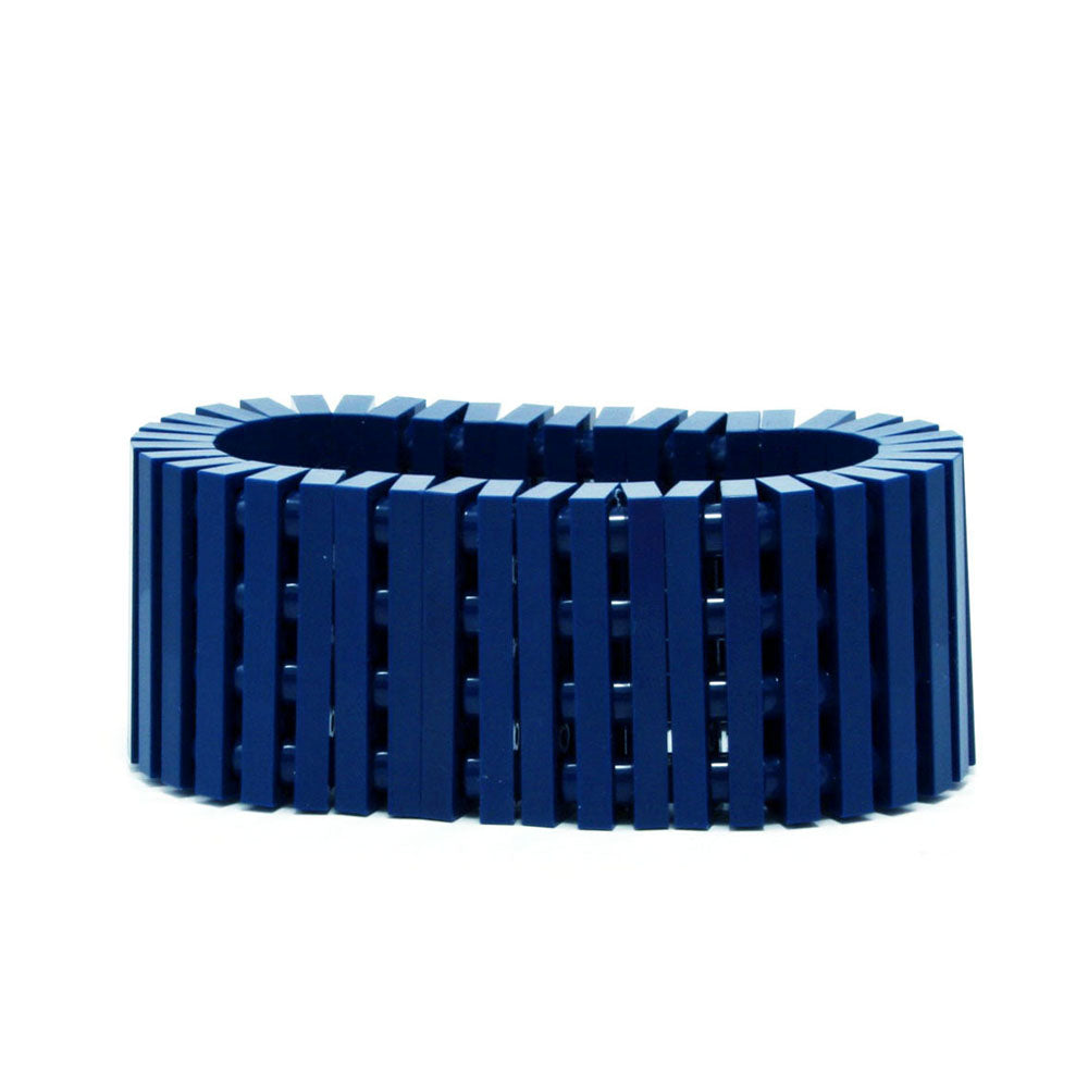 dark blue stripes bracelet