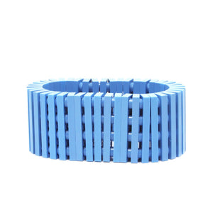 light blue stripes bracelet
