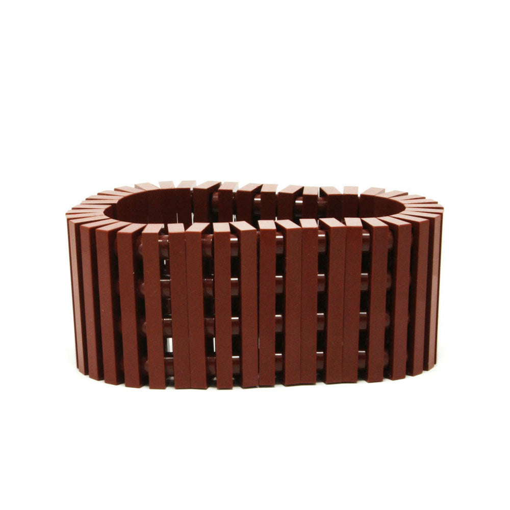 brown stripes bracelet