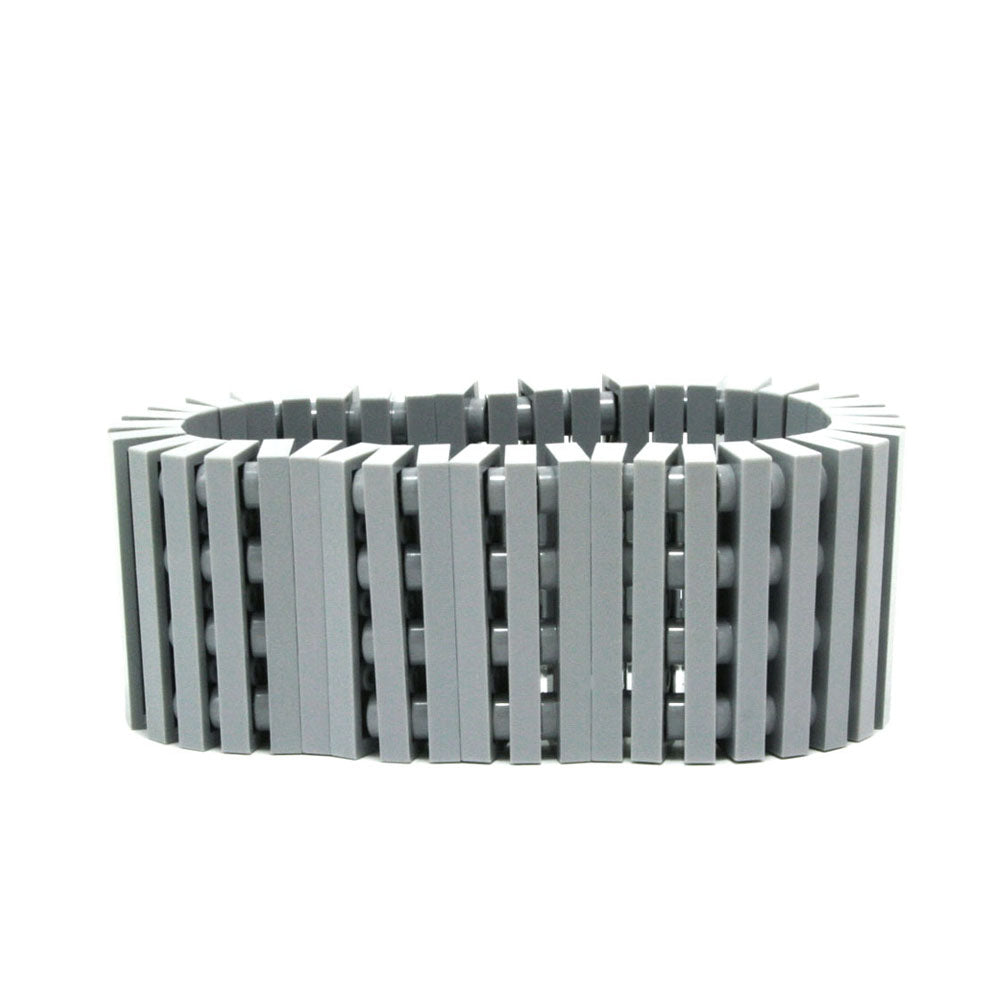 light grey stripes bracelet
