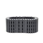 dark grey stripes bracelet
