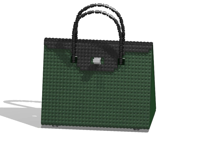 BRICK BAG 32 - dark green/black