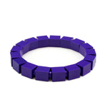 purple slim bracelet