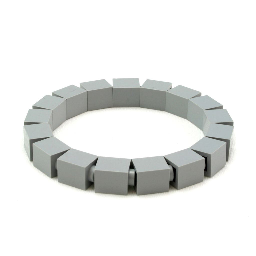 light grey slim bracelet