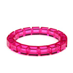 transparent pink slim bracelet