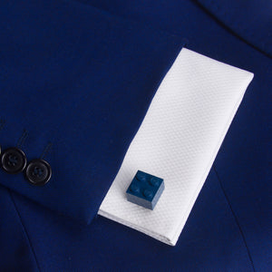 dark blue diamonds cufflinks