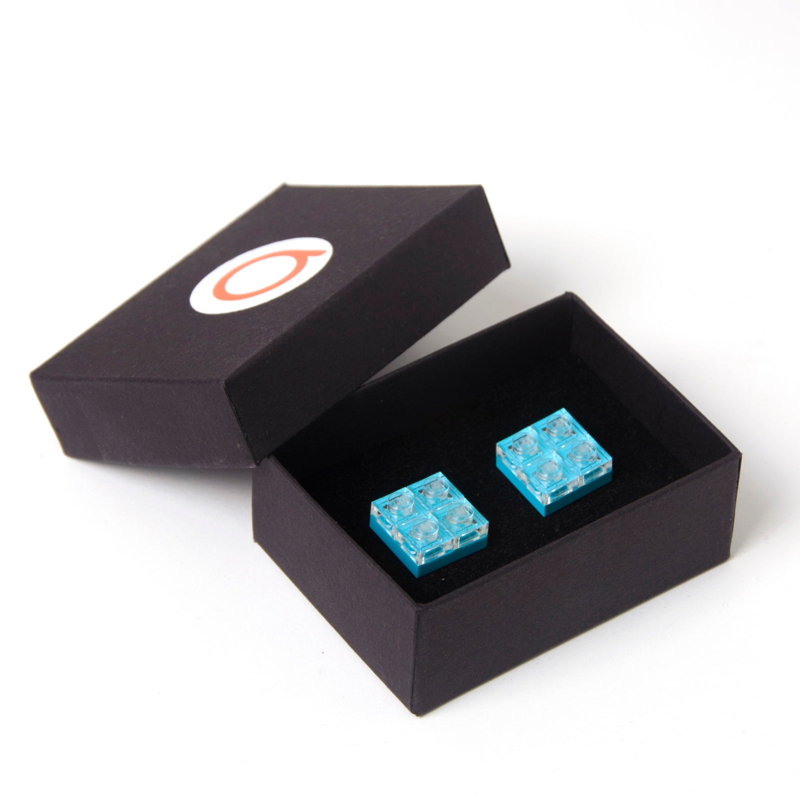 azure diamonds cufflinks