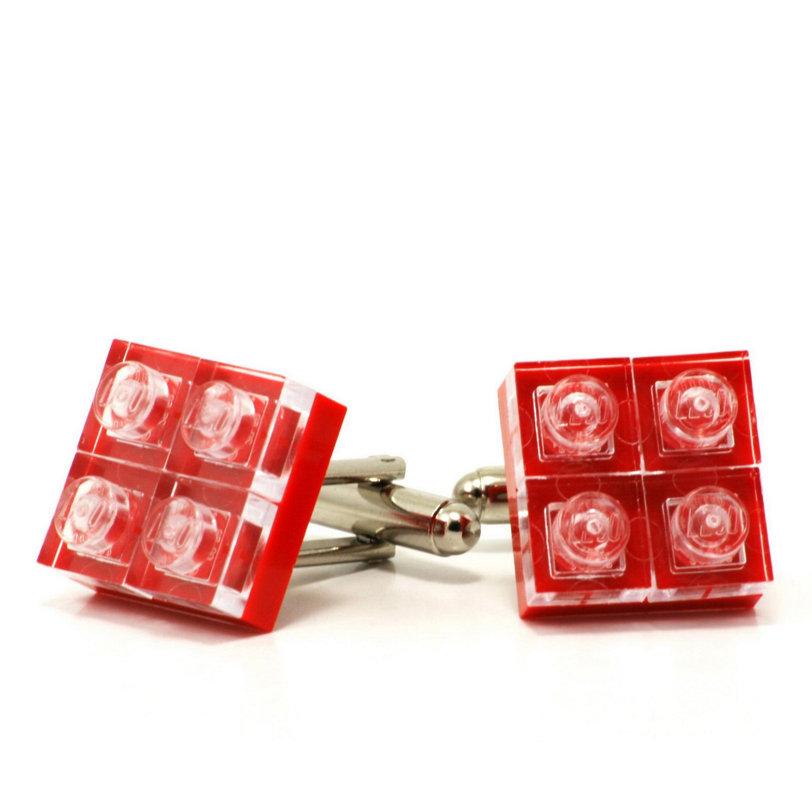 red diamonds cufflinks