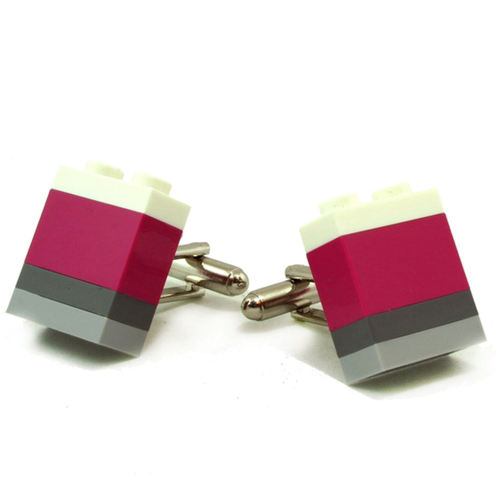 KYOTO striped cufflinks