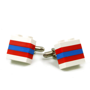 LONDON striped cufflinks