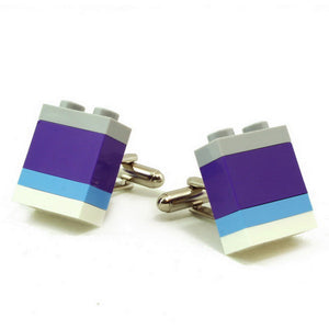 NICE striped cufflinks