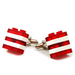 WIEN striped cufflinks