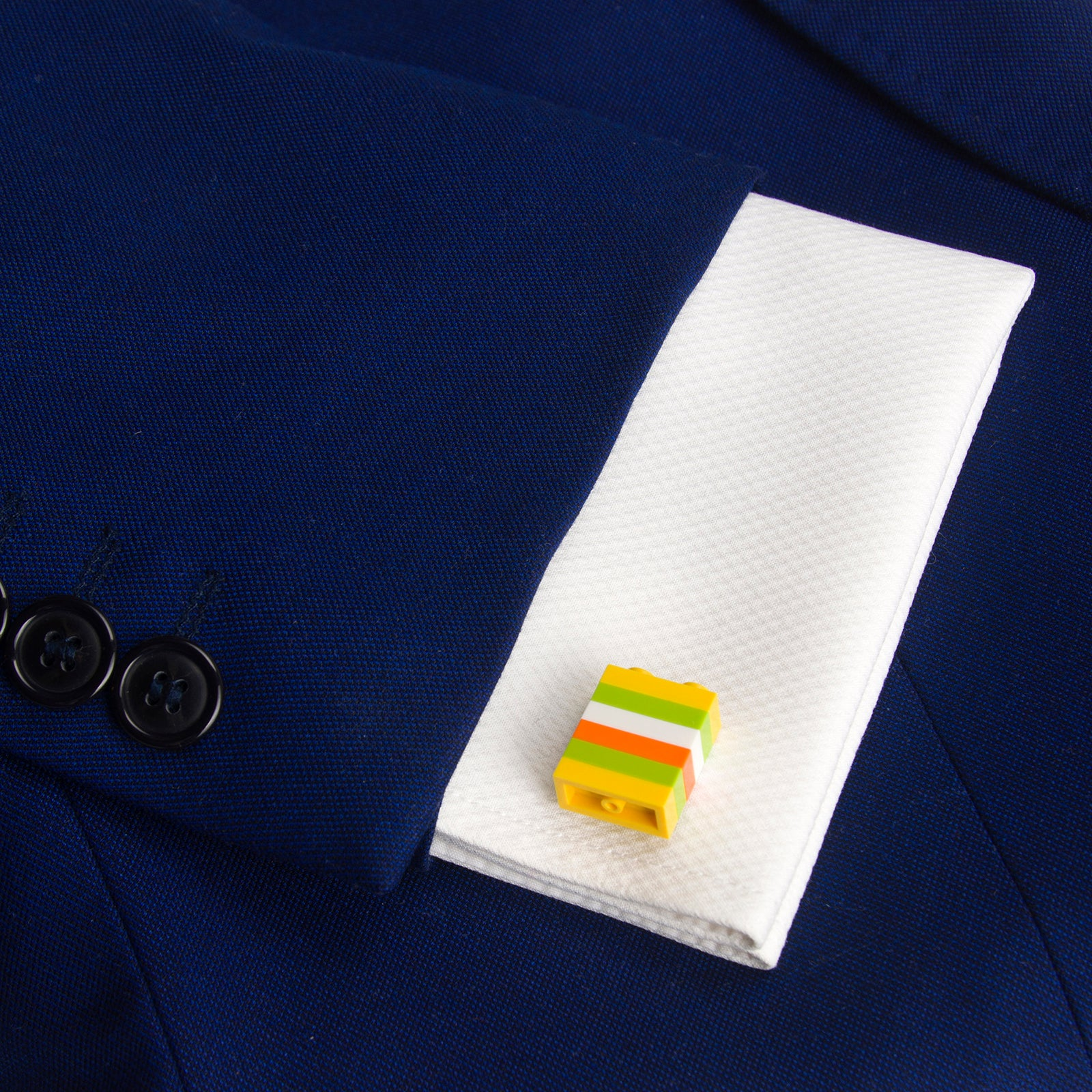 ZANZIBAR striped cufflinks