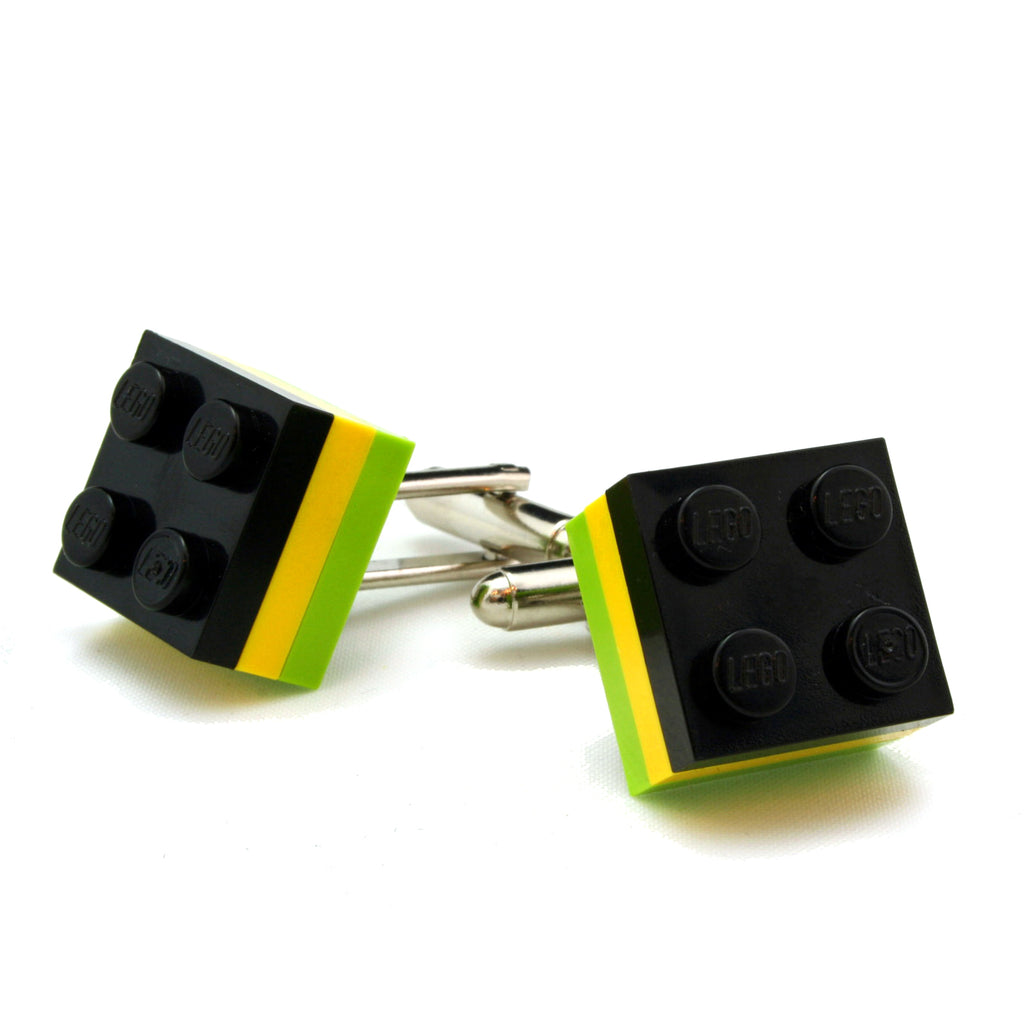 KINGSTON tricolor cufflinks