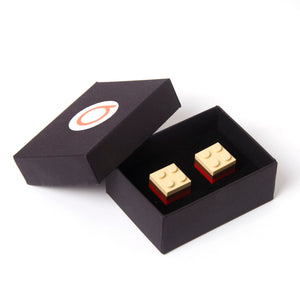 LIMOGES tricolor cufflinks