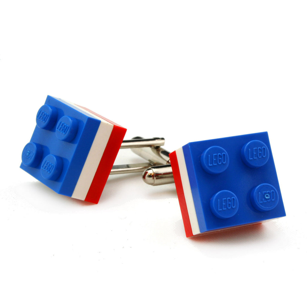 PARIS tricolor cufflinks