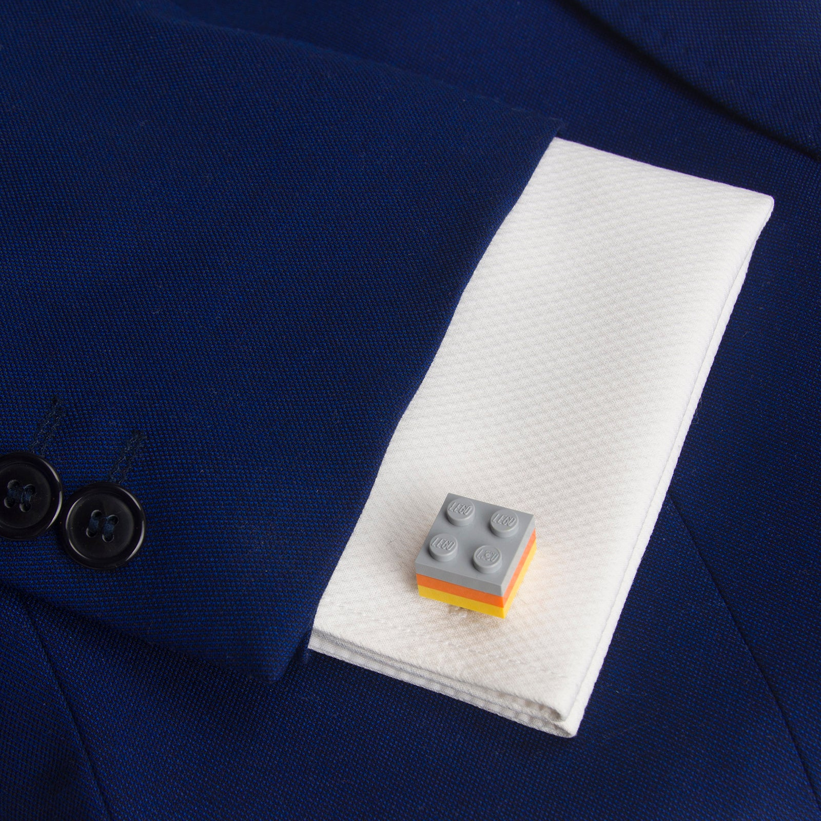 TANGER tricolor cufflinks
